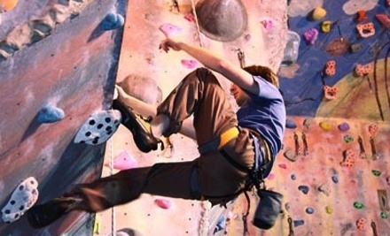 Planet Rock: Adult Starter Package and a 1-Day Unlimited-Climbing Pass - Planet Rock in Pontiac