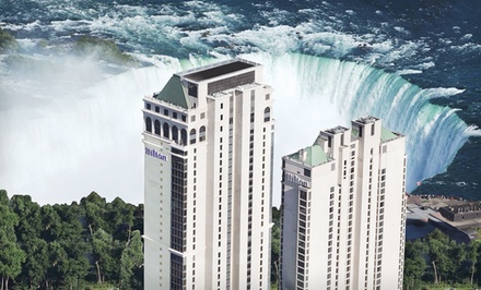 Two-Night Stay for Two in a Cityview Room, Valid for Check in SundayWednesday Through April 25 - Hilton Hotel and Suites Niagara Falls/Fallsview in NIagara Falls