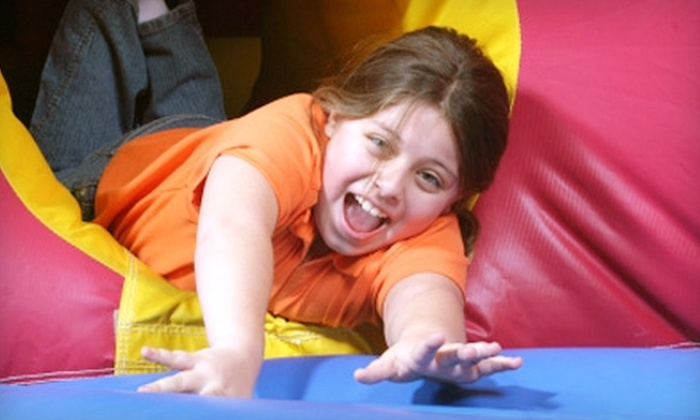 Bouncin Bins - Boise: $99 for a Wet/Dry Bounce-Slide Combo-Unit Rental from Bouncin Bins (Up to $200 Value)