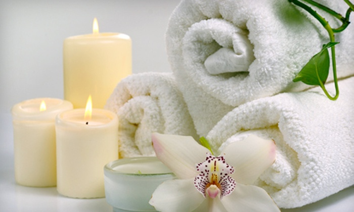 The Spa at Windward - Big Creek: Spa Package with Swedish Massage, Facial, and Deluxe Mani-Pedi for One or Two at The Spa at Windward in Alpharetta