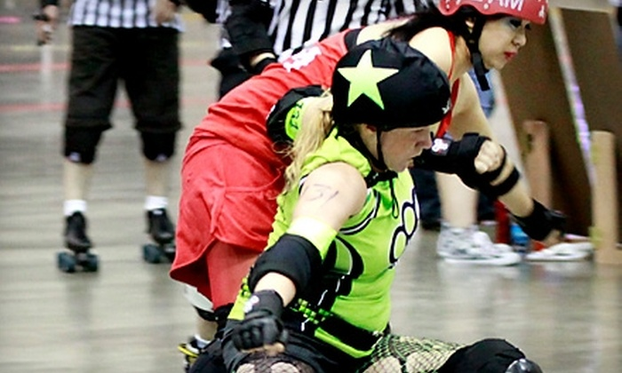 Hard Knox Roller Girls - Knoxville: $11 for Two Tickets to a Hard Knox Roller Girls Roller-Derby Bout