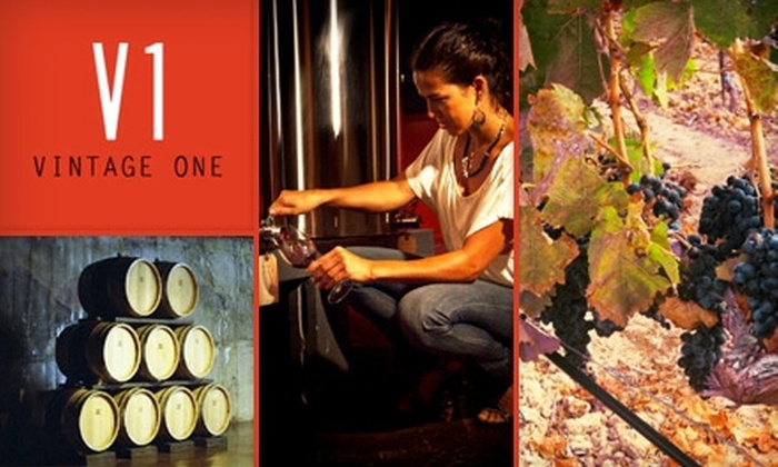 Vintage One - Eatonville: $50 for a Winemaking Experience, Including 12 Bottles' Worth of Wine, from Vintage One Wines