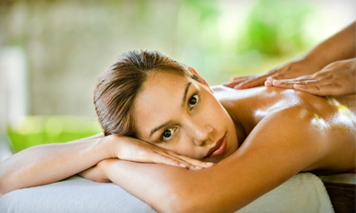Spring Thyme Day Spa - Financial District: $55 for 75-Minute Massage Package Including 50-Minute Signature Massage and 25-Minute Foot Reflexology at Spring Thyme Day Spa (Up to $120 Value)