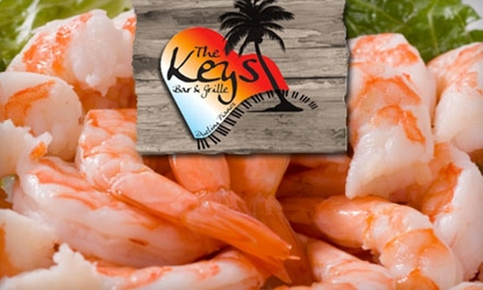 The Keys Bar and Grille - North Naples: $10 for $20 Worth of Casual Island Fare and Drinks at The Keys Bar and Grille