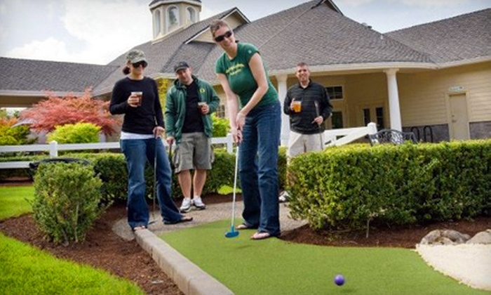 Tualatin Island Greens - Sherwood - Tualatin South: $17 for a Mini-Golf Outing for Two at Tualatin Island Greens (Up to $35.90 Value)