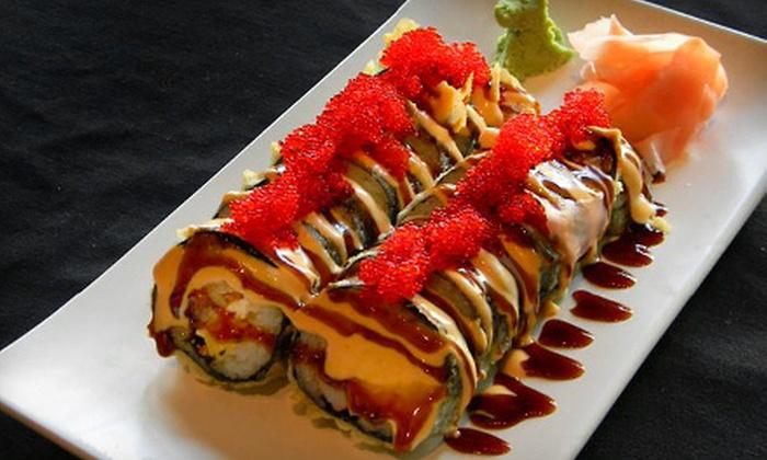 Hoshi Sushi Lounge - Carpenter: Sushi Platter for Two or Four at Hoshi Sushi Lounge