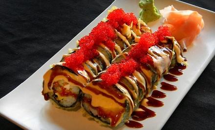 Hoshi Sushi Lounge: Sushi Platter for 4 - Hoshi Sushi Lounge in Des Moines