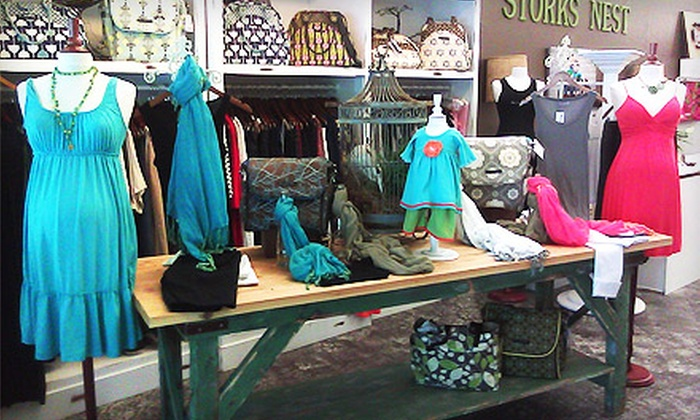Stork's Nest - Danville: $20 for $40 Toward Maternity and Baby Clothing and Accessories at Stork's Nest in Danville