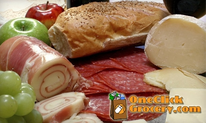 One Click Grocery: $15 for $30 Worth of Grocery Delivery from One Click Grocery