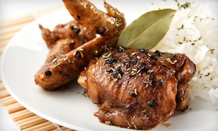 Manila! Manila! Resto Grill - Astoria: Filipino Meal for Two or Four at Manila! Manila! Resto Grill in Astoria (Up to 56% Off)