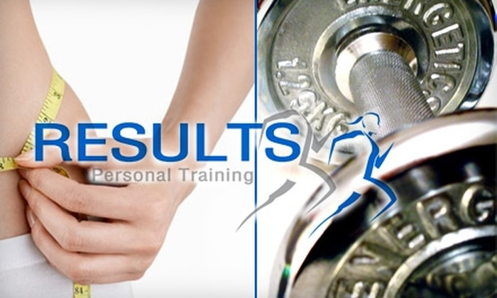 Results Personal Training - Multiple Locations: $29 for Two Months of Unlimited Personal Training from Results Personal Training ($260 Value)