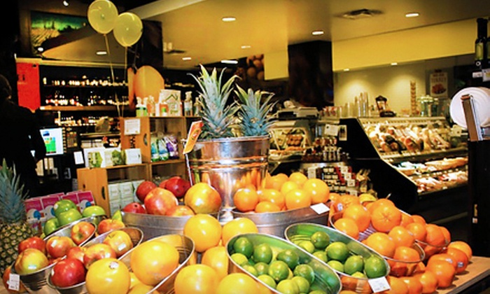 Lemon Tree Grocer - Chicago: Local Produce, Prepared Deli Fare, or Beer Geek Dinner for One or Two at Lemon Tree Grocer in Downers Grove (Up to 53% Off)