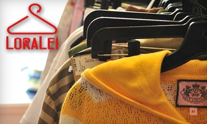 Loralei's Boutique - Multiple Locations: $25 For $50 Worth of Women's Designer Consignment Clothing At Loralei's Boutique