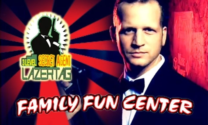 Family Fun Center - Central Omaha: $10 for Four Games of Laser Tag at Family Fun Center