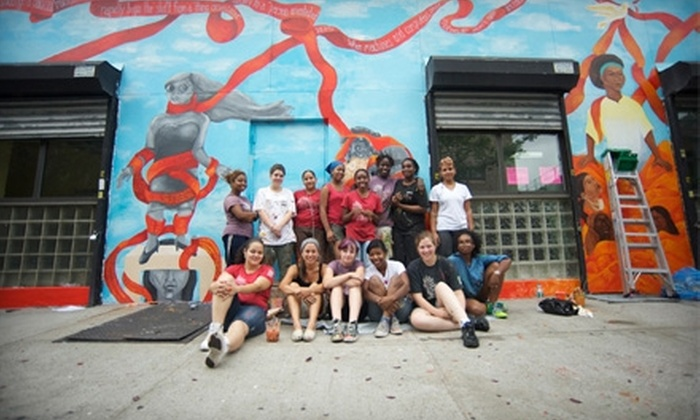 Groundswell Community Mural Project: Donate $10 to Help Young Artists Create a Consciousness-Raising Mural with Groundswell Community Mural Project