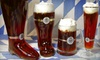 Helgas German Restaurant and Deli - City Center: Beer-Sampler Platters and Pretzels for Two or Four at Helga's German Restaurant and Deli in Aurora (Up to 56% Off)