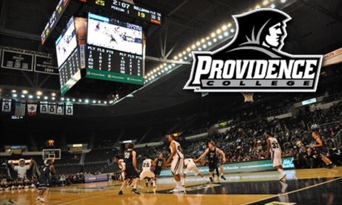 Providence College Athletics - Elmhurst: $10 for One Upper-Arena End-of-Sideline Voucher to a Providence College Athletics Men's Basketball Game ($20 Value). Choose Between Two Games.