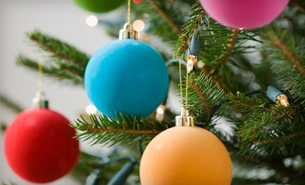 $50 Groupon for Christmas Trees, Wreaths, and Fresh Greenery from Fri., Nov. 18Sun., Nov. 20 - Reeves Ridge Christmas Trees in Sparta
