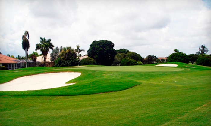 Cypress Creek Country Club - Cypress Creek: $33 for Golf Outing Including Cart Rental for Two at Cypress Creek Country Club in Boynton Beach (Up to $70 Value)