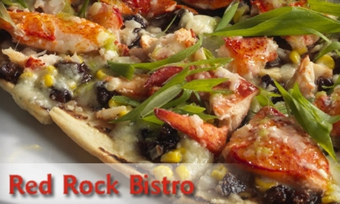 Red Rock Bistro - Swampscott: $20 for $40 Worth of Upscale Dinner Cuisine at Red Rock Bistro in Swampscott (or $10 for $20 Worth of Brunch or Lunch Fare)