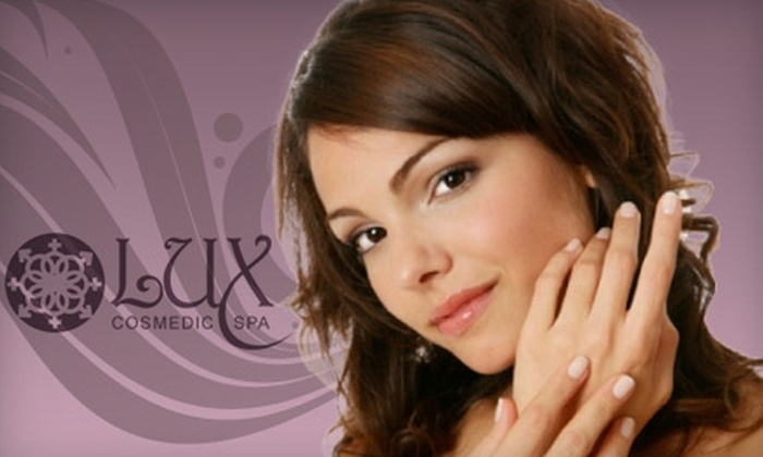 Lux Cosmedic Spa - Willowbrook: $50 for $125 Worth of Spa & Salon Services at Lux Cosmedic Spa