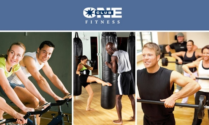Club One - San Francisco: One-Month Membership to Any Club One Fitness Club for $25
