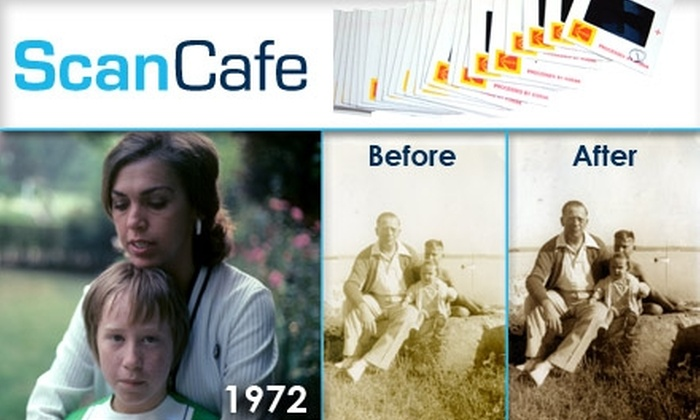 ScanCafe - San Francisco: $8 for 20 Photoscans and Digital Services with ScanCafe