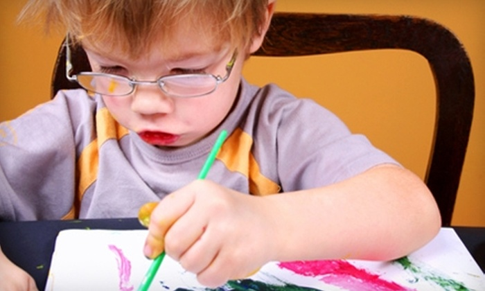 My Little Red Haus - Montgomery: Children's Art Class at My Little Red Haus. Choose Between Two Options.