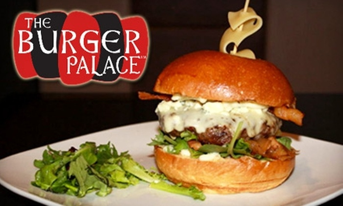 The Burger Palace - Great Uptown: $7 for $15 Worth of Premium Burgers, Hot Dogs, and More at The Burger Palace