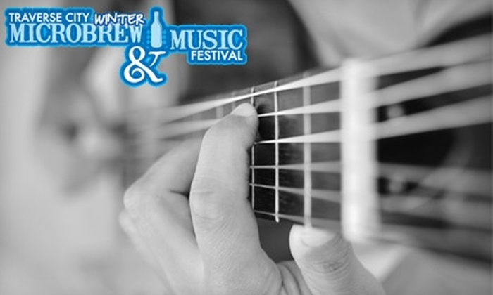 Porterhouse Productions - Traverse City: $15 for Admission to Traverse City Winter Microbrew & Music Festival on Saturday, February 12 (Up to $30 Value) or $7 for Admission on Friday, February 11 (Up to $15 Value)