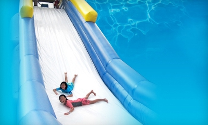 Rip Slide - Multiple Locations: $20 for a Waterslide Day Pass for Two to Rip Slide in St. Petersburg ($40 Value)