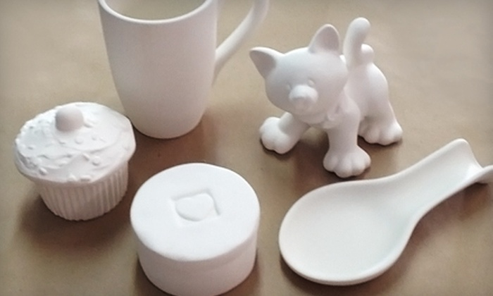 Clay Glaze Fire - Downtown Leesburg: $20 for Pottery Painting for Two at Clay Glaze Fire in Leesburg (Up to $40 Value)