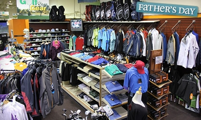 Golf & Gear - St. John's: Virtual Golf, Golf-Club Fitting and Swing Analysis, or Merchandise at Golf & Gear