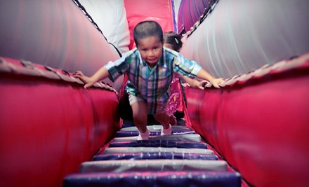 5 Inflatable-Playground Visits During Open-Play Hours (a $50 value) - Planet WOW in Houston