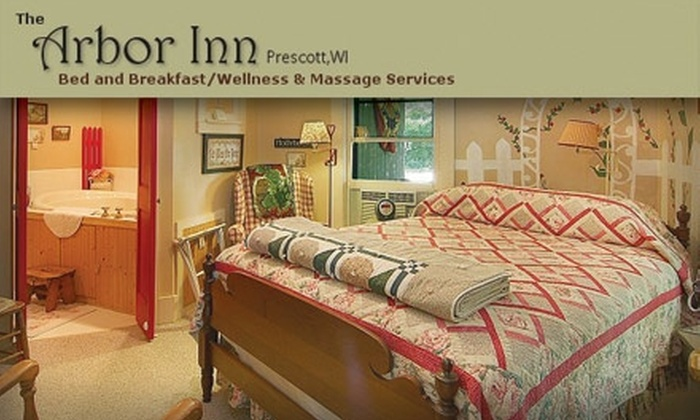 The Arbor Inn Bed & Breakfast - Prescott: $59 for One Night in the Garden Room at The Arbor Inn Bed and Breakfast (up to a $159 value)