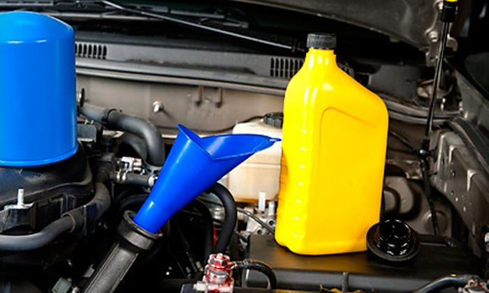 Auto Number One - East Weymouth: Three or Five Regular or Synthetic Oil Changes with 24-Point Inspection at Auto Number One in Weymouth (Up to 69% Off)