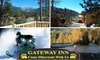 The Gateway Inn - Grand Lake: $75 for a Balcony Room with a Fireplace at The Gateway Inn