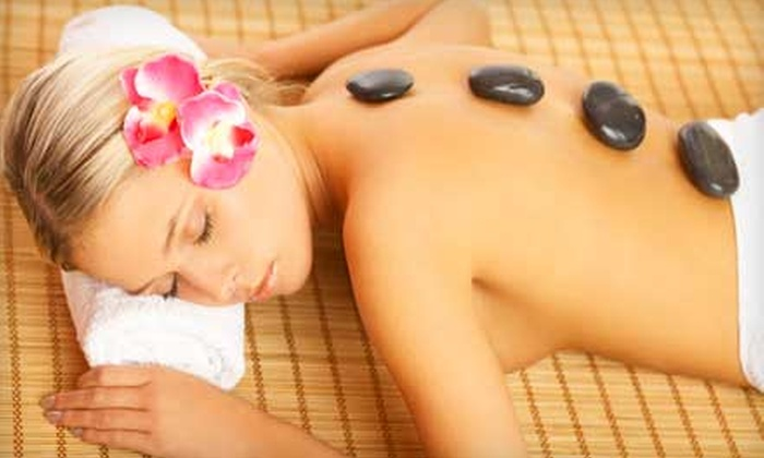 Peace of Mind - Central City: Hot-Stone Massage Package or Wine-Therapy Massage at Peace of Mind