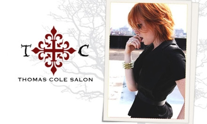 Thomas Cole Salon - Great Neck Plaza: $45 for $100 Worth of Services at Thomas Cole Salon