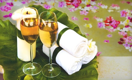 60-Minute Swedish Couples Massage with Chocolate-Covered Strawberries and Champagne (a $160 value) - La Bella Day Spa and Salon in Upland