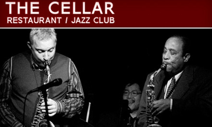 The Cellar Restaurant and Jazz Club - Kitsilano: $19 for Admission for Two and Two Drinks at The Cellar Restaurant and Jazz Club (Up to $54 Value)