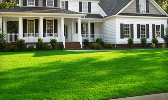 Nutri-Lawn - Barrie: $35 for One Spring Lawn Core Aeration ($111.36 Value) or $30 for One Spring Fertilizer Treatment ($81.76 Value) from Nutri-Lawn