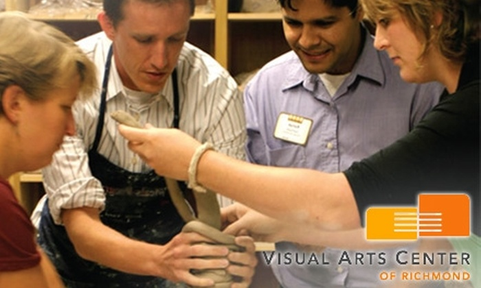 Visual Arts Center of Richmond - The Fan: $39 for $95 Worth of Art Classes at Visual Arts Center of Richmond