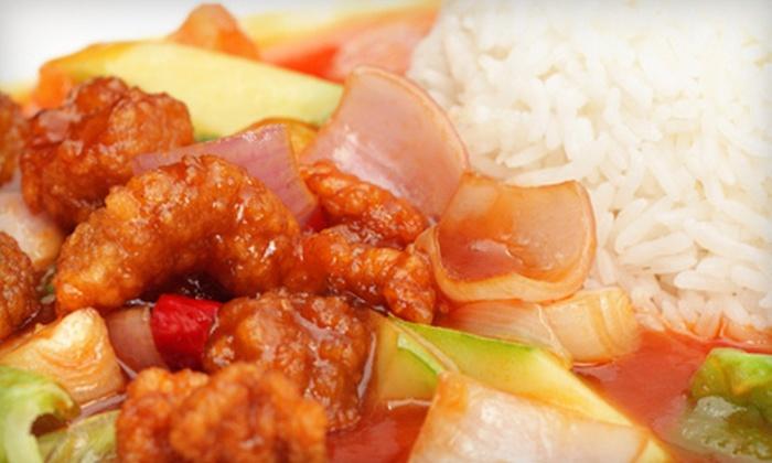 Po's Dumpling Bar - Volker: $10 for $20 Worth of Fresh Chinese Cuisine at Po's Dumpling Bar