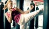 Strides of CNY - Seneca Knolls: 1, 5, or 10 Cardio Boxing and Kickboxing Classes at Strides of CNY, LLC (Up to 75% Off)