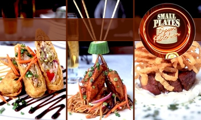 Small Plates - Downtown: $20 for $40 of Eclectic Tapas and Drinks at Small Plates