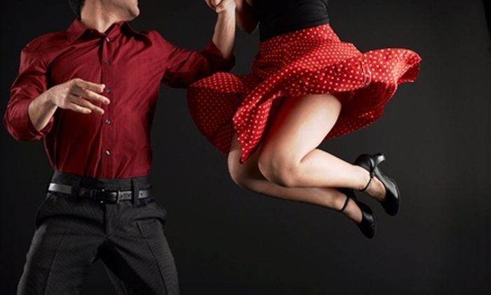 The Ballroom - Rohnert Park: $55 for Five Weeks of Group Dance Classes for Two at The Ballroom ($130 Value)
