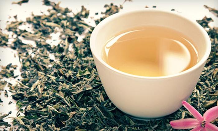 Mahamosa Gourmet Teas, Spices & Herbs - Multiple Locations: Teas and Teapots at Mahamosa Gourmet Teas, Spices & Herbs (Up to 56% Off). Two Options and Two Locations Available.