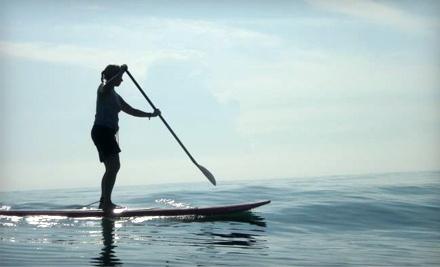 1-Hour Kayak or Paddleboard Rental for 1 - Paddleboard New Smyrna Beach in New Smyrna Beach