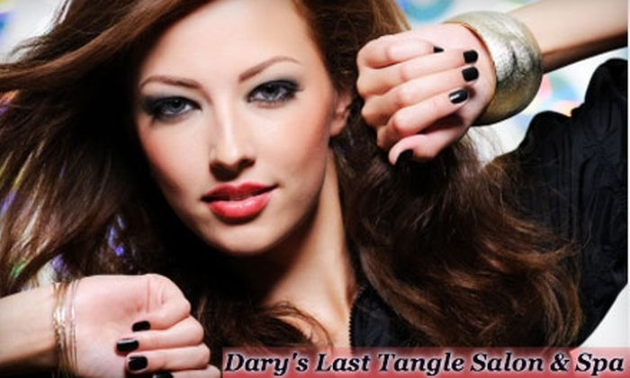 Dary's Last Tangle Salon and Spa - De Pere: $10 for $20 or $20 for $40 Worth of Hair, Nail, or Massage Services at Dary's Last Tangle Salon & Spa in De Pere